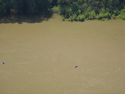 Kayaker on the Shenandoah.