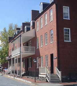 Corner of Hog Alley and Potomac Street.
