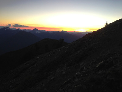 Mt. Outram Camping Sept 2 2012