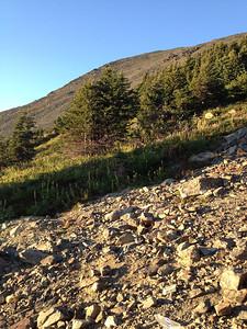 The boulder field awaits!