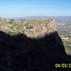 Above the Precipice Overlooking Oro Valley