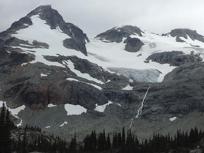 Close-up of Train Glacier