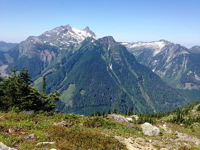 Northwestern view from the ridge