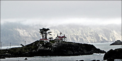 Battery Point Lighthouse. Crescent City, California