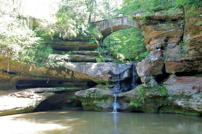 Hocking Hills , Old Man's Cave area