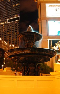 Fountain, long exposure, Las Vegas, NV