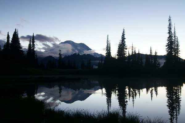 Mount Rainier at Twighlight