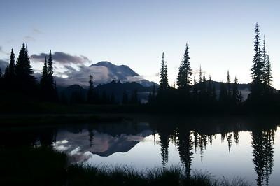 Mount Rainier at Twighlight