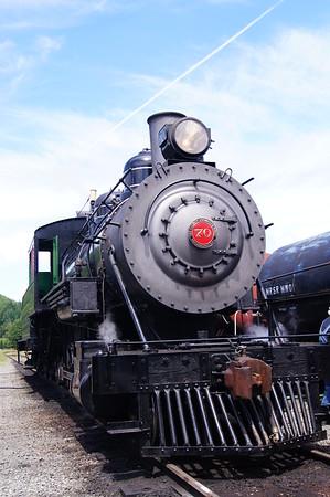 Mount Rainier Scenic Railroad, number 70