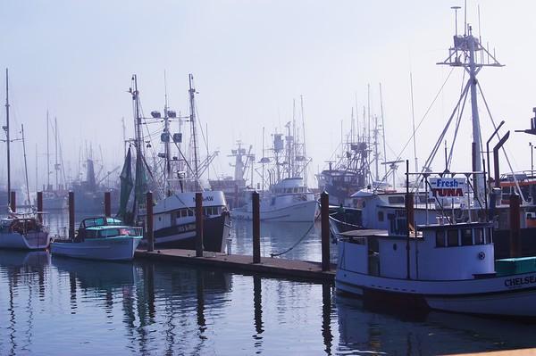 Fishing Boats, Newport, Oregon