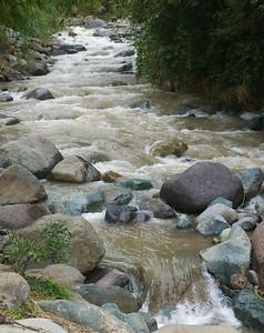 Quebradas, Costa Rica June 2013  River by our house.