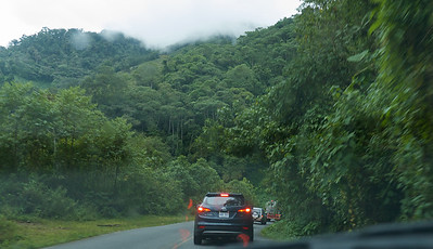 Pan American highway between San Jose and San Isidro de General, Costa Rica June 2103 150km of twists turns, sun, fog, blinding rain, of biblical proportions according to Bryan, and some of the most beautiful country you will ever see.