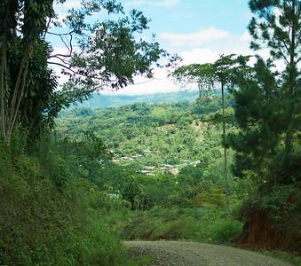 Quebradas, Costa Rica June 2013 Walk in the neighbourhood. What a great view.