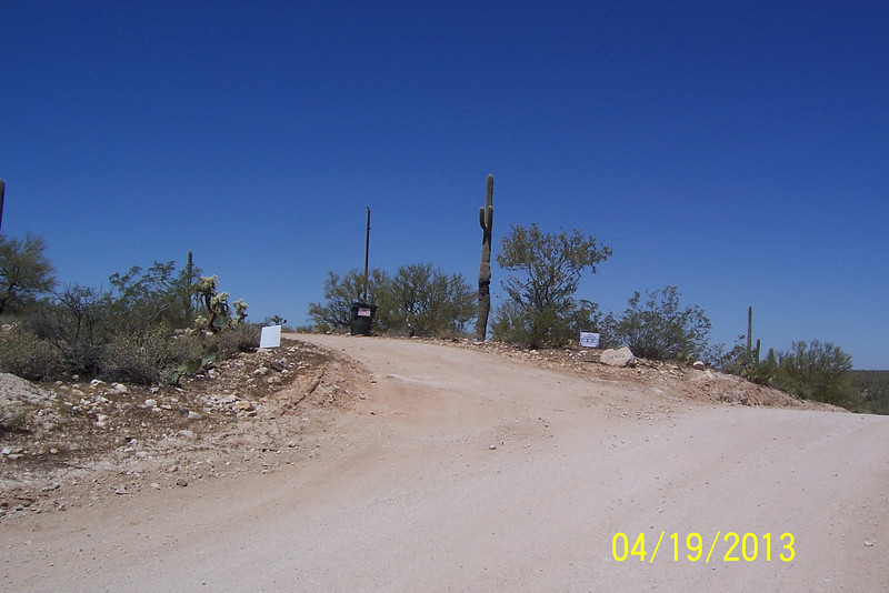 Here is the entrance to Way Out West Ranch. We had arranged to go on a trail ride here.