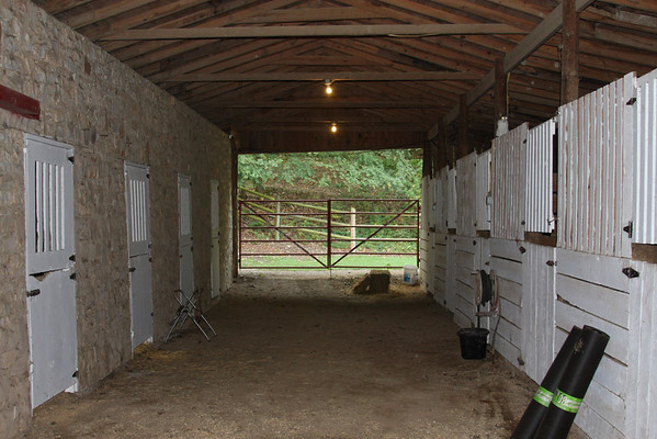 Panther Valley Ranch stables.