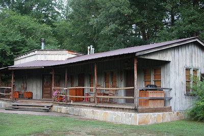 One of the cabins at Panther Valley Ranch.