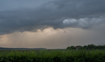 Storm over Hortobagy