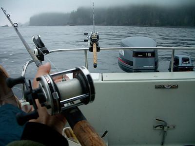 Salmon Fishing at Neah Bay