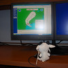 Weather Cow prepares for his upcoming mission into IKE