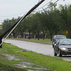 Utility pole down near our subdivision