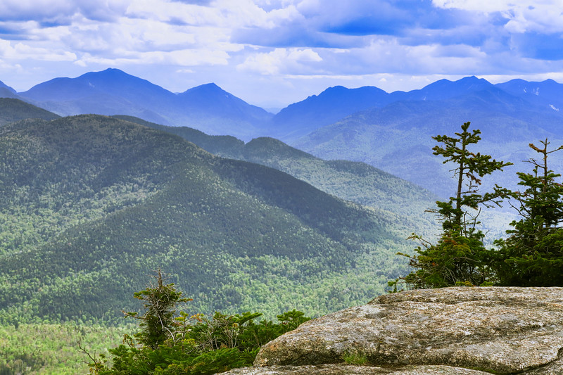 View toward high peaks