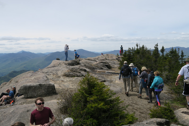 Summit was busy after noon!