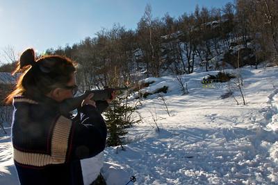 Vinnaren årets påske skiskyttarrenn...