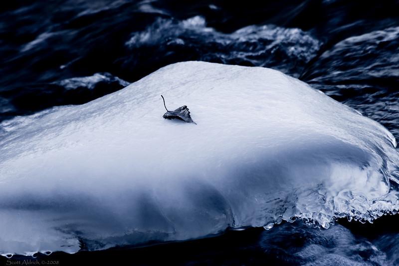 River ice - Alaska.