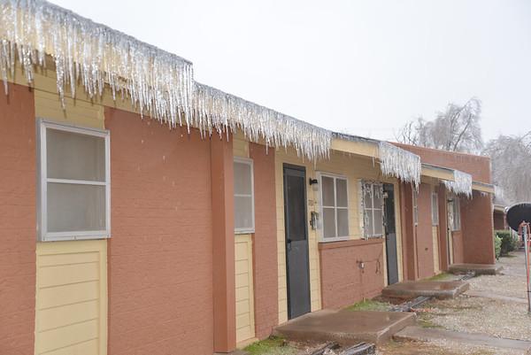 Ice Storm In Oklahoma City December 21, 2013