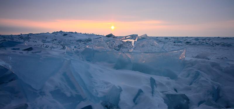 Frozen Sea- Lake Superior