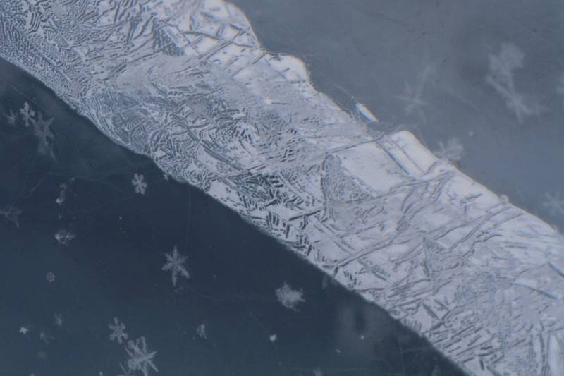 Etchings in Ice- Lake Superior