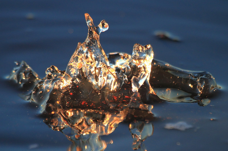 Ice Formation- Whiskey Creek Flowage