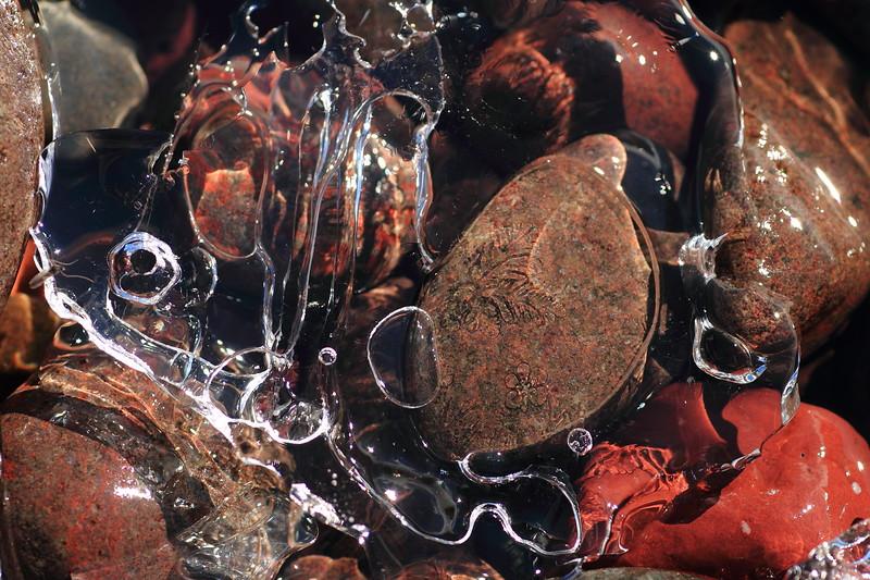 Icy rocks-Grand Marais, MN