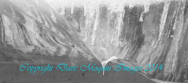 Ice sheet glacier- Mississippi River- Otsego Park