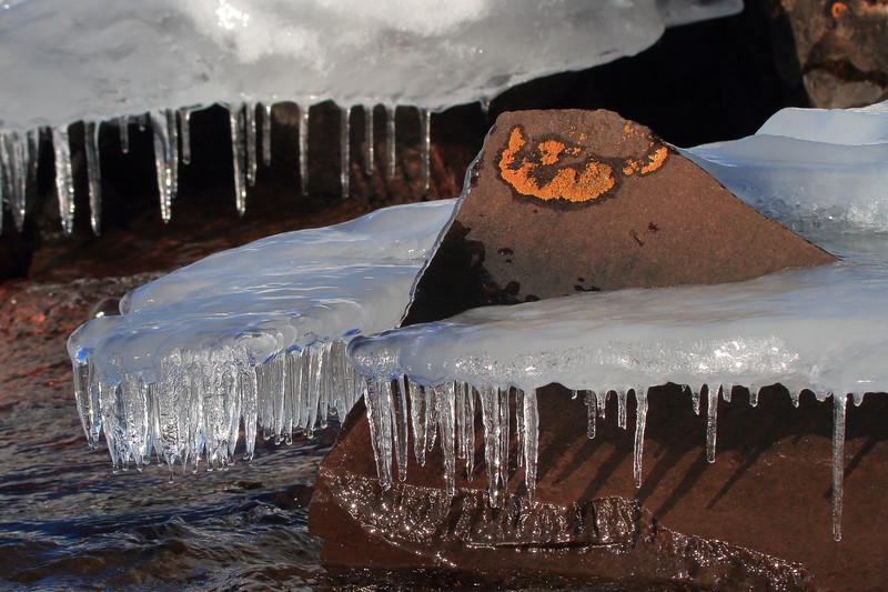 Ice on rocks- Artist Point