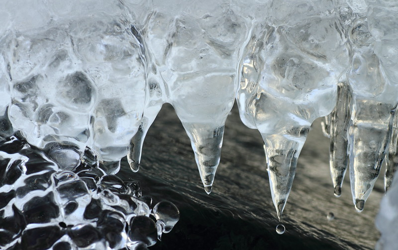 Ice Formations- Brighton Beach