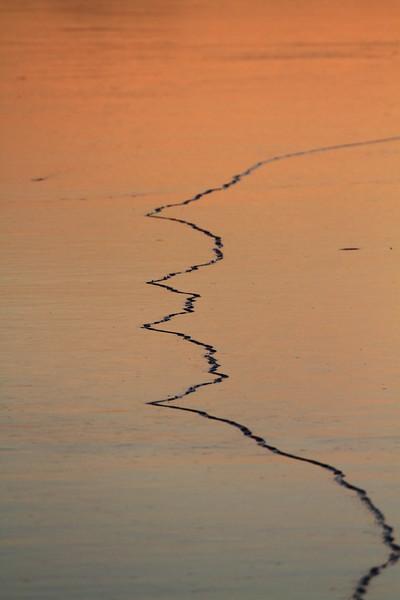 Cracked Lake- Lake Fremont