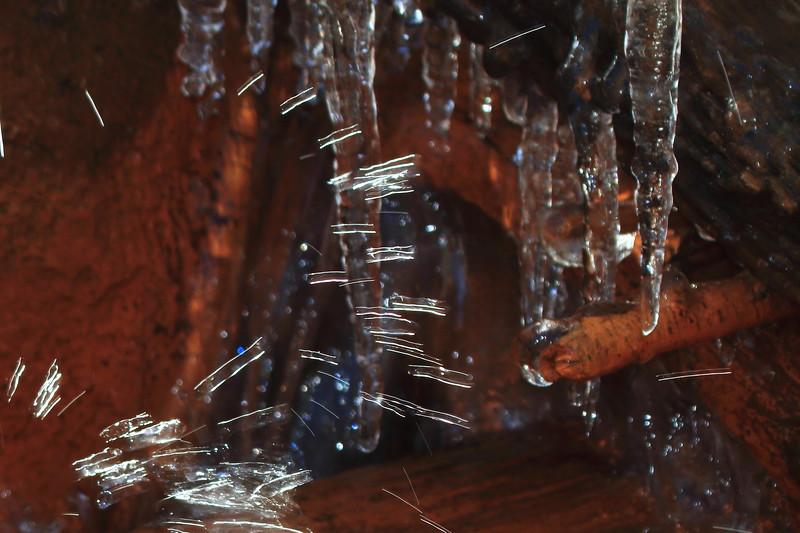 Splashing water- Paint Mine Creek