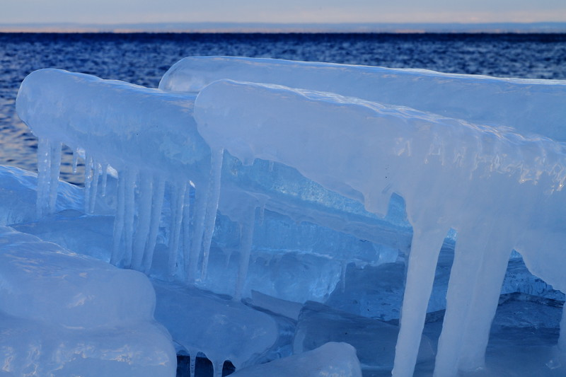 Ice slabs- Brighton Beach