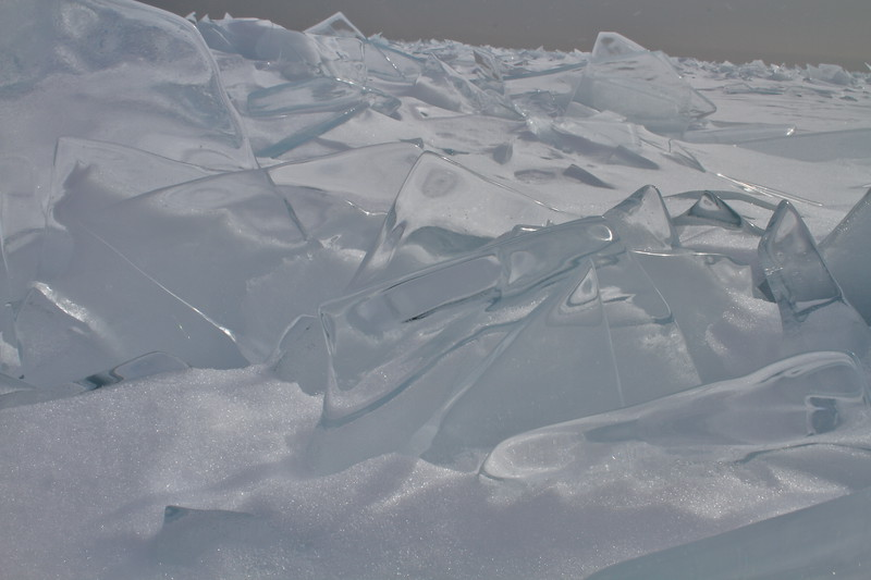Lake Superior Ice Field