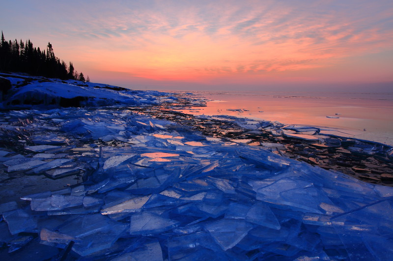 Artist Point Morning- Grand Marais, MN