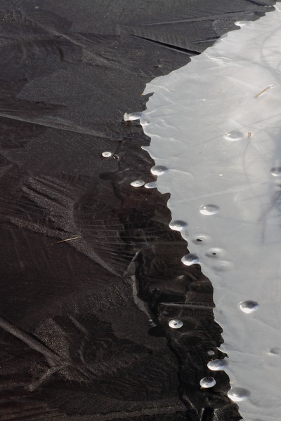 Ice Formation(frozen droplets)- Crex Meadows