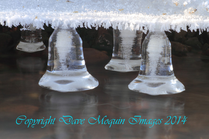 Ice Formations(bells)- Mississippi River- Otsego Park