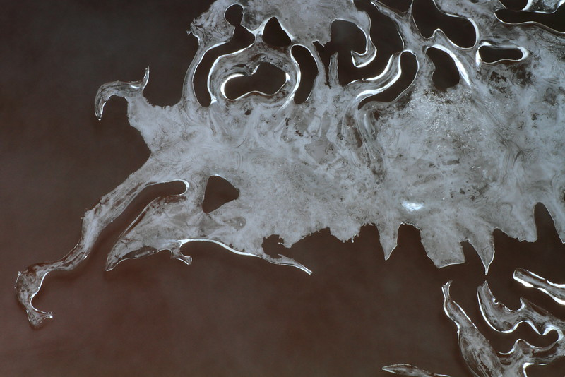 Ice Formation # 511 - Paint Mine