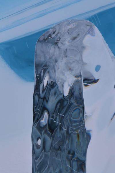 Triangular Ice Block- Lake Superior