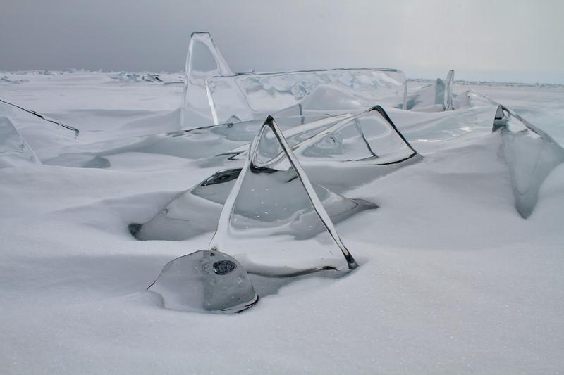 Ice Sculptures- Lake Superior