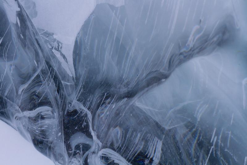 Patterns in Ice Slab- Lake Superior