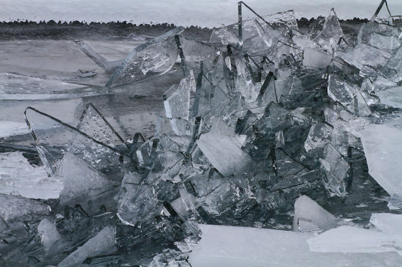 Frozen Barrier- Lake Superior
