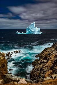 Iceberg Grate Cove, NL -D859969