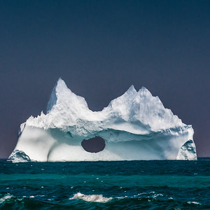 Iceberg, Bear Cove, NL - 2017